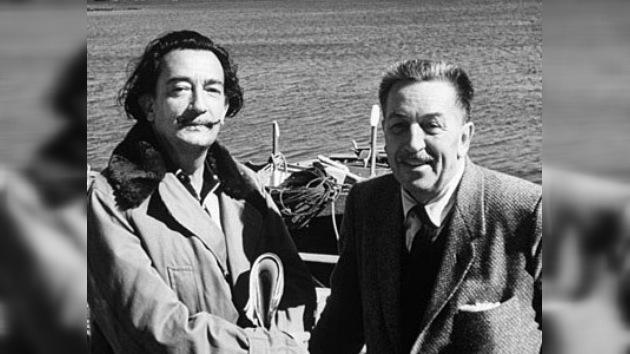 Sale corto animado fruto de la colaboración de Dalí y Disney