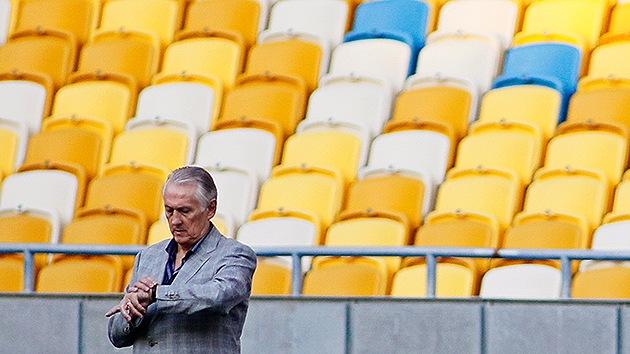 El fútbol ucraniano se queda sin aliento: proponen jugar los partidos sin hinchas