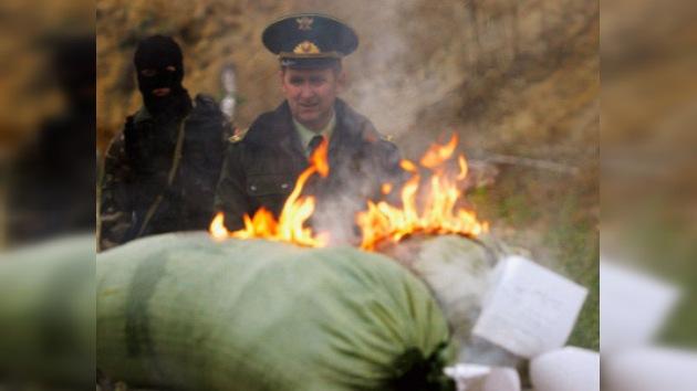 Rusia espera recibir de EE.UU. información sobre 50 'narcobarones' afganos