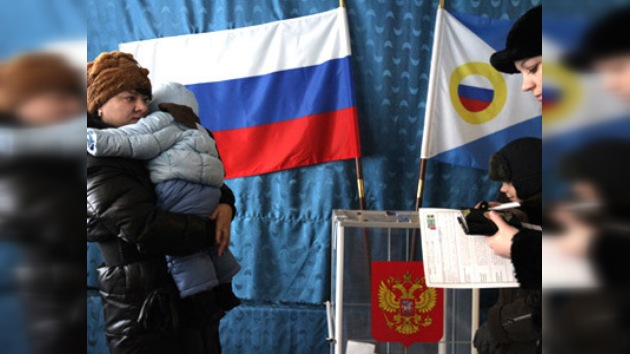 Los rusos empiezan a votar para elegir presidente, en vivo