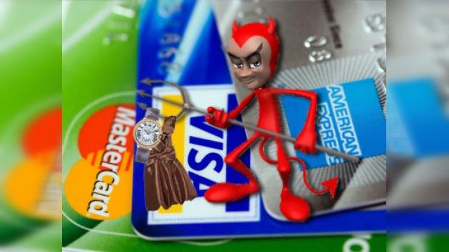 Exorcismo de tarjetas de crédito contra la diabólica adicción a las compras