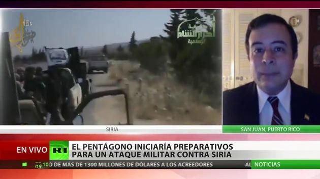 El Pentágono se prepara para un posible ataque con misiles contra Siria