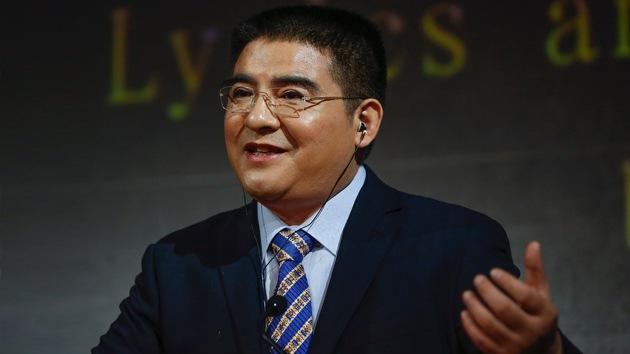 """""""Líder moral de China y héroe"""", la tarjeta de visita más pretenciosa del mundo"""
