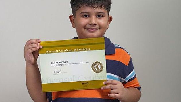 Micro-genio en Microsoft: un niño de 8 años, nuevo experto del gigante informático
