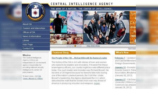 El sitio web de la CIA vuelve a funcionar tras el ataque de Anonymous
