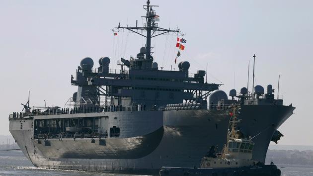 El buque insignia de la Sexta Flota de EE.UU. entra en el mar Negro
