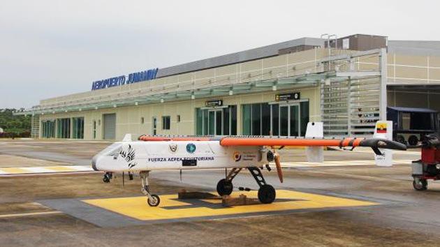 La Fuerza Aérea de Ecuador prueba su propio prototipo de avión no tripulado