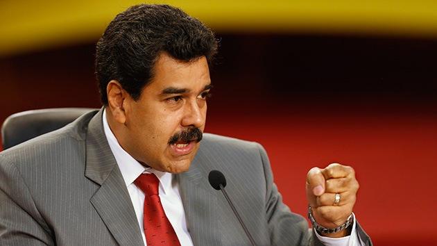 """Maduro: """"La extrema derecha provoca el caos para derrocar al Gobierno"""""""