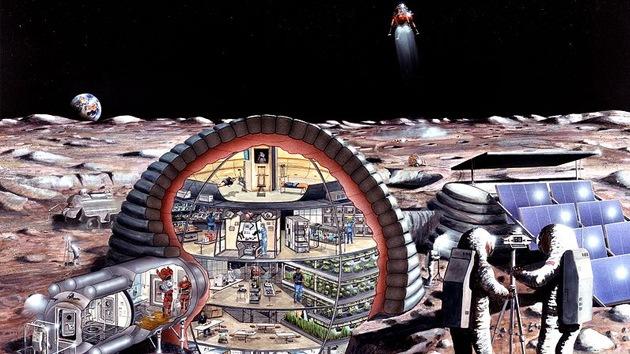Proponen trasladar industrias peligrosas de la Tierra a la Luna