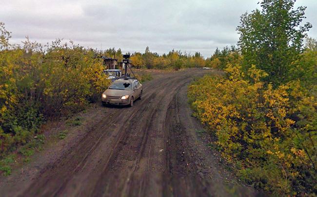 Inuvik,los Territorios del Noroeste de Canadá
