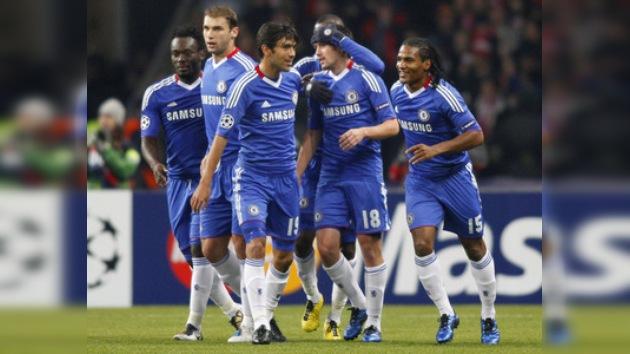 Chelsea se impone a Spartak y lidera el Grupo F de la Champions