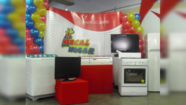 Los venezolanos podrán adquirir electrodomésticos baratos gracias a un programa social