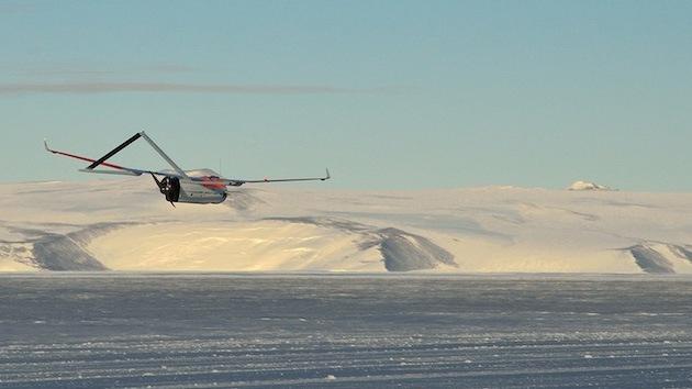 'Drones' de EE.UU., ahora a la exploración de la Antártida