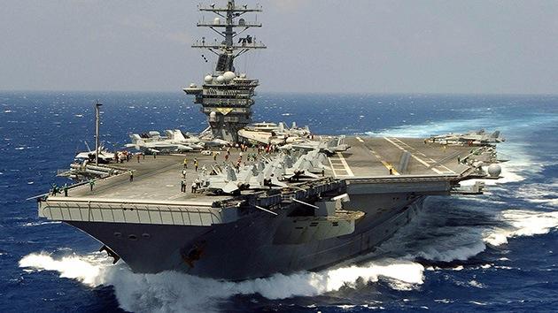 Miles de soldados de EE.UU. se acercan a la costa siria en el portaaviones Eisenhower