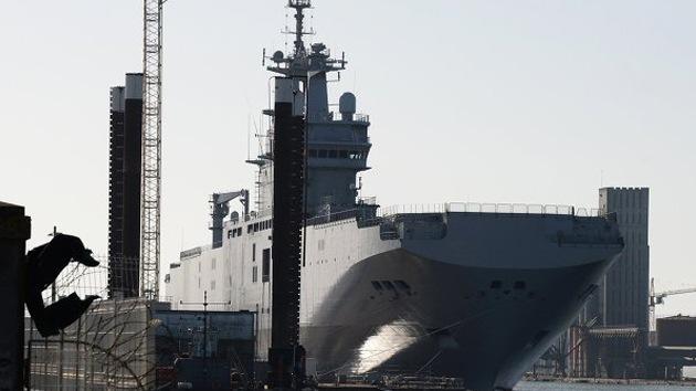 Incertidumbre en la entrega del Mistral a Rusia causa ira sindical en Francia