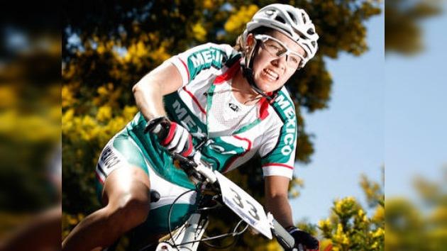 La ciclista Morfín logra la primera medalla para México en los Panamericanos