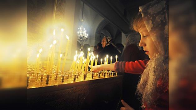 Rusia celebra la Navidad Ortodoxa