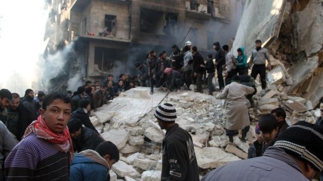 Rusia dice que no bloqueó la declaracion de condena en la ONU a Siria por bombardeos