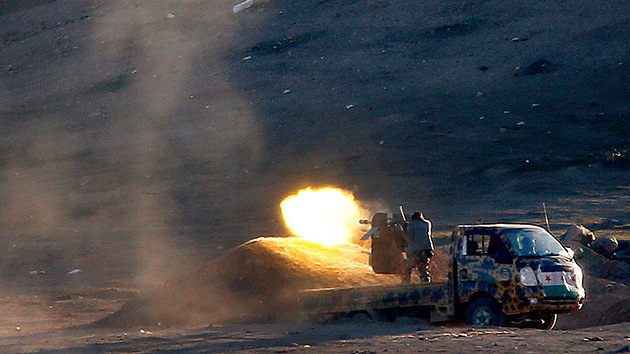 Kobani, desde dentro: Primeras imágenes de la batalla entre kurdos y el EI en Siria