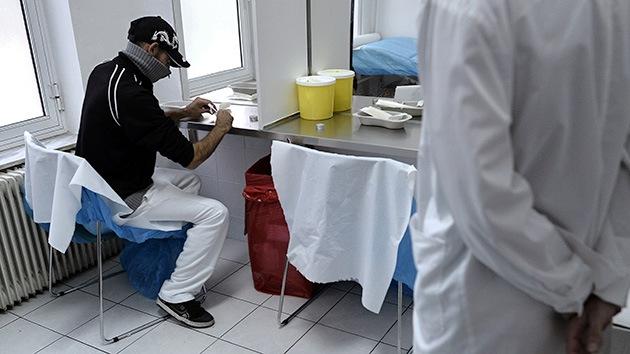Grecia abre las puertas de la primera sala de inyección de heroína