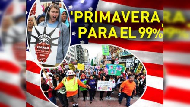 'Ocupa' promete convertir el histórico 1 de mayo en la 'primavera para el 99%' en EE. UU.