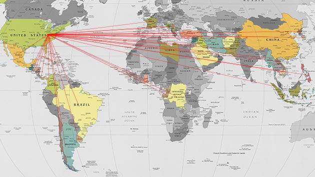 Países que han sido invadidos por Estados Unidos