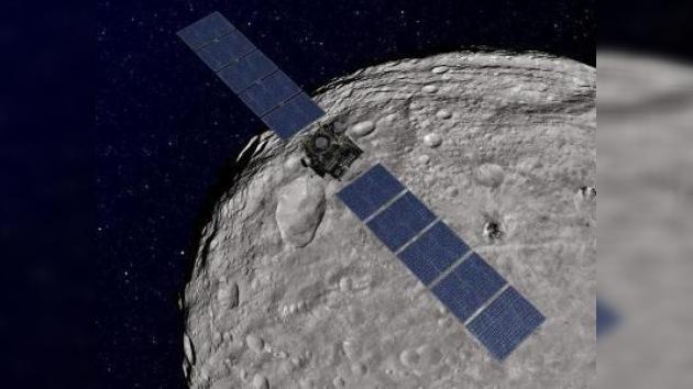 El asteroide Vesta, 'a vista de pájaro'