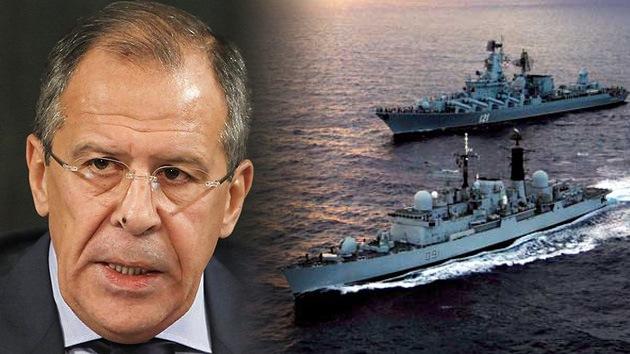 Lavrov: Rusia no construirá bases en Cuba, pero la Armada sí necesita apoyo logístico