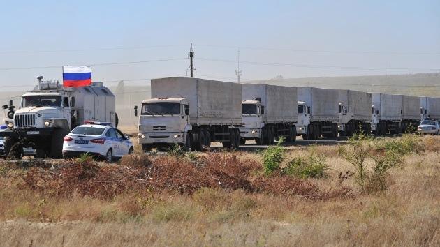 Tercer convoy de ayuda humanitaria de Rusia entra en Ucrania