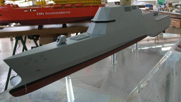 La Armada española desarrolla una revolucionaria fragata