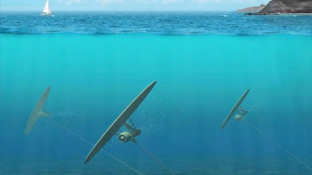 Centrales al estilo 'Star Trek' podrían generar luz a partir de las corrientes marinas