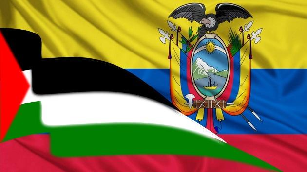Ecuador y Palestina acuerdan establecer misiones diplomáticas