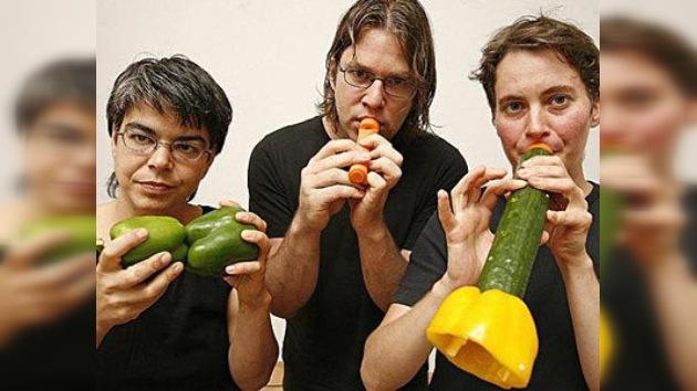 La Orquesta de Verduras de Viena actúa en Moscú