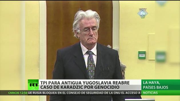 La Haya renueva el cargo de genocidio contra Radovan Karadzic