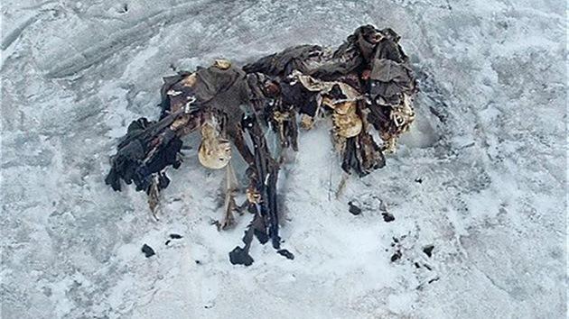 Fotos: El derretimiento de glaciares en Italia expone momias