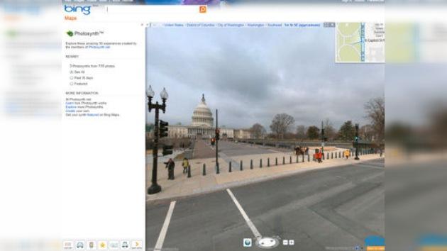 Microsoft estrena un servicio de mapas panorámicos en Europa