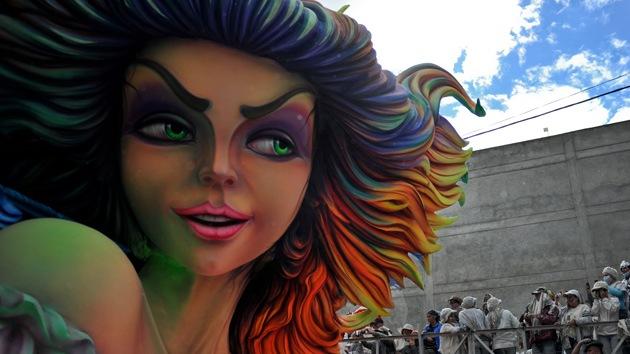 Carnaval de Negros y Blancos en Colombia