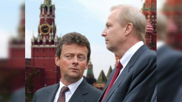 Altos cargos de BP llegan a Rusia