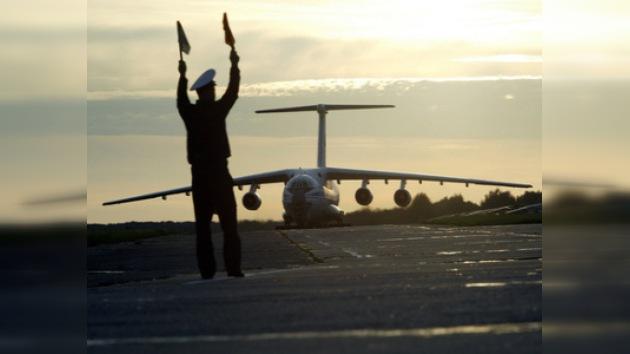 El avión IL-76 detenido en Tailandia puede pertenecer a Georgia