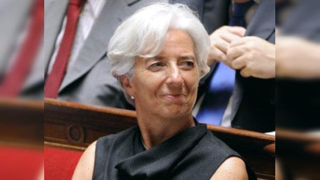 Christine Lagarde, nueva jefa del Fondo Monetario Internacional