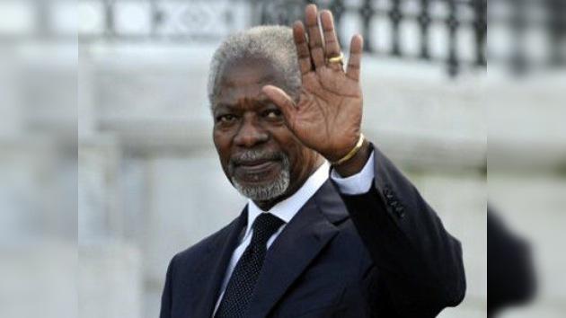 Kofi Annan, nombrado representante de la ONU en Siria