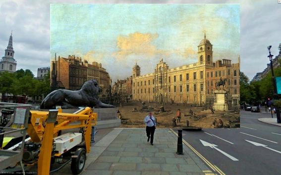 Londres, entre píxeles y pinceladas
