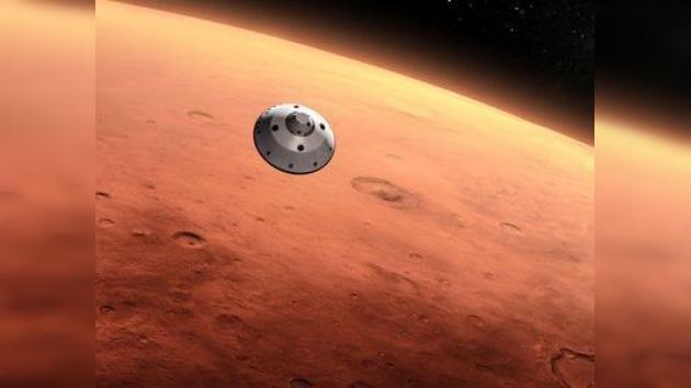 La expedición marciana no tripulada activa su primer dispositivo