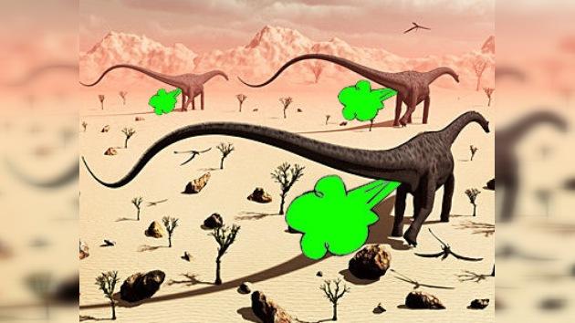 Los dinosaurios tenían gases... ¿de efecto invernadero?