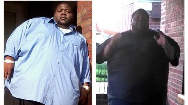 """El """"inspirador"""" entrenamiento de un hombre de 360 kg se hace viral en Facebook"""