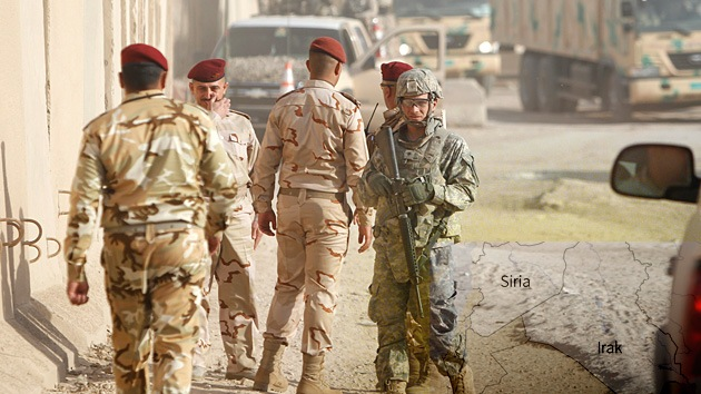 ¿Prepara EE.UU. una nueva intervención en Irak para entrar en Siria?