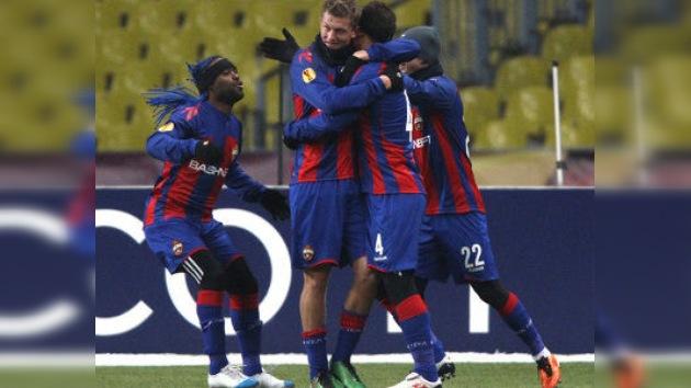 CSKA de Moscú, primer equipo clasificado para octavos de la Liga Europa