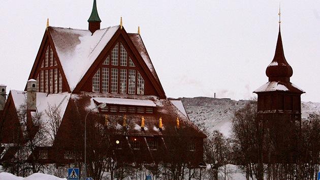 Kiruna, la ciudad sueca que será desplazada para no hundirse en una mina