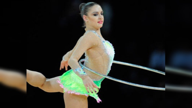 La rusa Kanáyeva se lleva todo el oro del Gran Premio de Gimnasia Artística