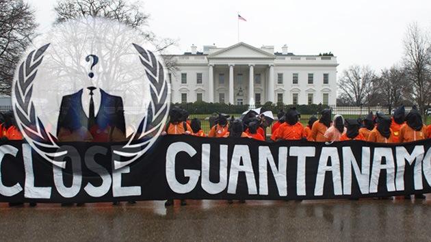Anonymous se moviliza para cerrar Guantánamo
